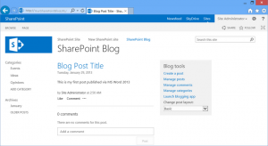 How_to_publish_a_SharePoint_blog_article_via_Microsoft_Word_2013_9