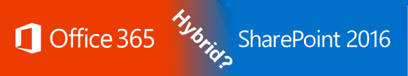 New hybrid features of SharePoint Server 2016